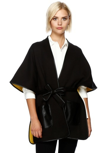 House Of Camellia Kimono Hırka Siyah